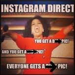 The Most Hilarious Instagram Direct Memes | MadameNoire via Relatably.com