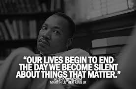 Image result for silence is not an option