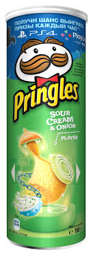 Pringles <b>картофельные чипсы со вкусом</b> сметаны и лука, 165 г