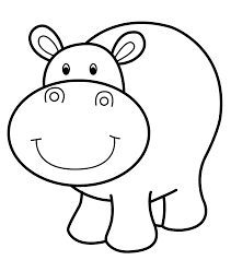 Small Picture Hippo Coloring Pages Printable Free Coloring Sheets Pinterest