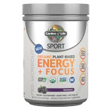 <b>SPORT Organic Plant-Based Energy</b> + Focus