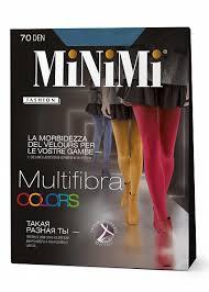 <b>Колготки 70 den</b> из микрофибры в фантазийных цветах <b>MINIMI</b> ...