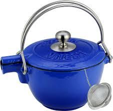 """<b>Чайник заварочный Vitesse</b> """"Ferro"""", с ситечком, цвет: синий, 1,15 ..."""