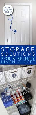 kitchen solution traditional closet: make the most of every inch you have in your linen closet by using these smart