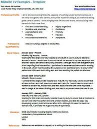 images about learnist org  on pinterest   cv examples  cover    midwife cv example and template   warehouse assistant cv example