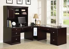 attractive corner office desk stunning dark brown wooden corner office desk design ideas awesome corner office desk remarkable
