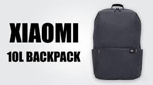 <b>Xiaomi 10L Backpack Bag</b> - YouTube