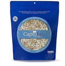 Clear <b>Size</b> 0 <b>Empty Vegetarian Capsules</b> by Capsuline - 1000 Count ...