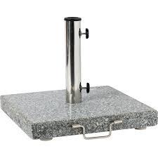<b>Подставка</b> под <b>зонт</b>, гранит/нержавеющая сталь, <b>30 кг</b>, серый в ...