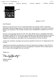 chicago teachers union pushes violation of teacher first amendment above the letter chicago teachers union president marilyn stewart blast faxes to all chicago public schools principals on 4 2010