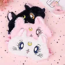 <b>1 Pcs Soft</b> Cute Comfortable Eye Mask Cartoon Animal Sleep ...
