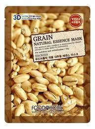 <b>Тканевая 3D маска</b> с экстрактом зерновых культур Grain Natural ...