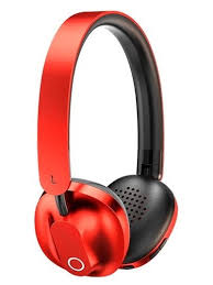 Bluetooth headphones with microphone <b>baseus encok D01</b> (red ...
