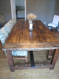 Rustic Dining Room Table Plans Woodworking Rustic Plank Dining Table Plans Pdf Free Download