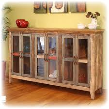 antique multi color console with 6 glass panel doors antique home office furniture antique