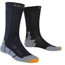 <b>Носки X</b>-<b>Bionic</b> 2018 <b>X</b>-<b>SOCKS TREKKING SILVER</b> Черный ...