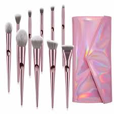 <b>10PCS Make up Brushes</b> Ergonomic Beauty Accessories for <b>Women</b> ...
