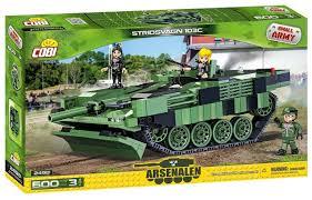 <b>Конструктор Cobi Small Army</b> World War II 2498 Шведский танк ...