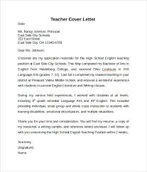 teacher cover letter example      download free documents in pdf    simple teacher cover letter example