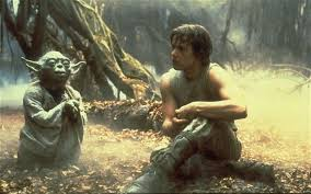 Image result for yoda and luke gif