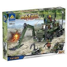 <b>Конструктор Kazi</b> Полевая армия 84040 <b>Инженерные войска</b>