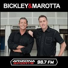Bickley & Marotta Show Audio