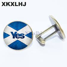 <b>2019 XKXLHJ</b> 2018 <b>New</b> Fashion Scottish Flag Cufflinks Scottish ...