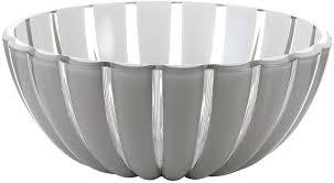 "<b>Салатник Guzzini</b> ""Grace"", цвет: серый, диаметр <b>20 см</b>, 1,5 л"