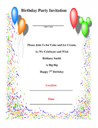 sample invitation for birthday party wedding invitation sample sample birthday invitation templates