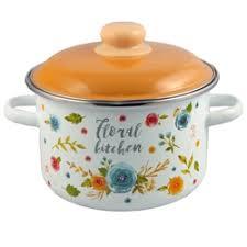 «<b>Кастрюля Appetite</b> Floral kitchen 6RD161M <b>2.0л</b> эмаль ...