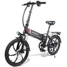 Samebike 20LVXD30 10.4Ah Smart Folding Electric Moped Bike E ...