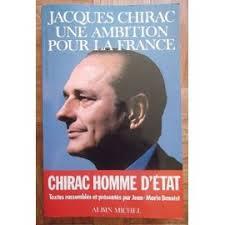 """Chirac Homme D'état de Jean - <b>Marie Benoist</b>"""" - Livre - Benoist-Jean-Marie-Jacques-Chirac-Une-Ambition-Pour-La-France-Chirac-Homme-D-etat-Livre-918673563_ML"""