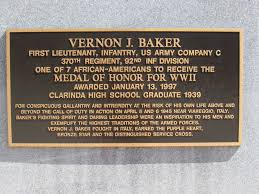 left bank of the charles farewell to medal of honor recipient baker was born in cheyenne wyoming he attended school there and at boys town in omaha nebraska and graduated from clarinda high school in 1939