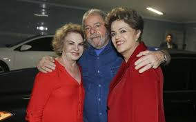 Image result for  lula e dilma