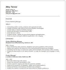 example of a marketing resume  seangarrette coexample