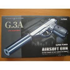 <b>Страйкбольный пистолет Galaxy G.3A</b> (PPS) с глушителем в ...