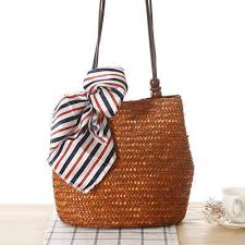<b>2019 New</b> Style Straw Handbags Retro <b>Shoulder Bags</b> – narachic