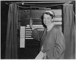 getting out the vote a family tale paula reed nancarrow eleanor roosevelt votes in hyde park 1936