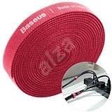 <b>Baseus</b> Rainbow <b>Circle Velcro</b> Straps 3m Red - Cable Organiser ...