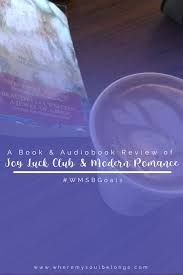 book review archives where my soul belongs audiobook review modern r ce book review joy luck club
