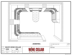 custom wine cellars chicago illinois design 3d drawing plan dave barrel wine cellar designs