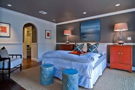 Small Picture Paint Ideas for Bedroom with Chair Rail Home Design Inspiration
