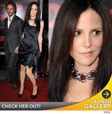 "Mary Louise Parker embraced her goth side Monday night for the ""RED"" premiere. 1013_parker_launch. Parker, who usually goes shabby chic on ""Weeds,"" showed ... - 1013-parker-launch-credit"