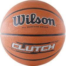 Купить <b>мяч баскетбольный Wilson Clutch</b>, 7, оранжевый, цены в ...