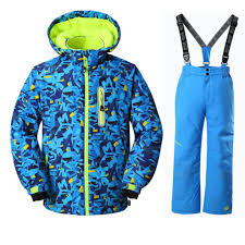 30 Degrees <b>Children Boys</b> Ski Suit <b>Ski Jacket</b> and <b>Pant</b> Outdoor ...