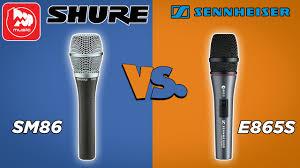 Сравнение <b>микрофонов</b> SENNHEISER E865 и <b>SHURE</b> SM86 ...