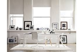 black white office by katharine black and white office
