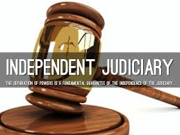 short essay on the independence of judiciary