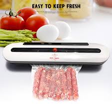<b>Electric Vacuum Sealer</b> Packaging Machine For Home Kitchen ...