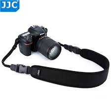 <b>JJC</b> Neoprene DSLR Camera Belt Wide Quick Release Black Neck ...